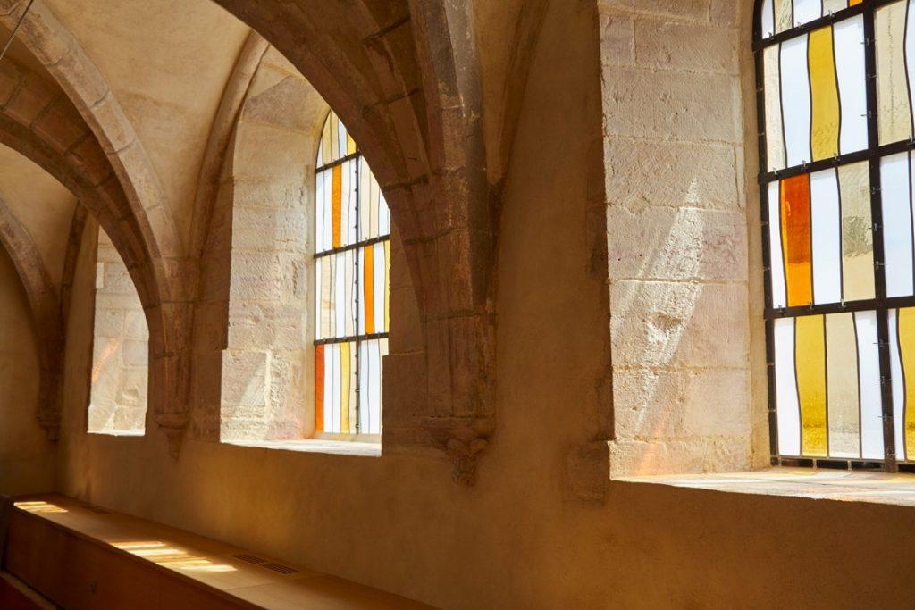 Détail des vitraux © Antoine Mercusot